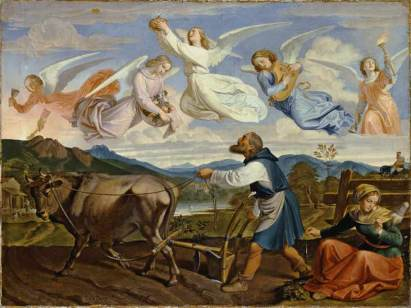 Joseph von Führich: Sen św. Izydora