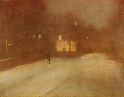 James Whistler: Szarość i złoto