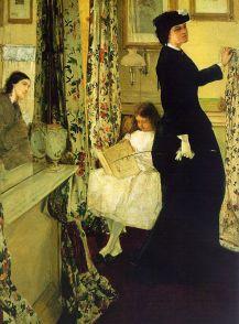 James Whistler: Harmonia w zieleni i różu