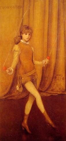 James Whistler: Harmonia w żółcieni i złocie