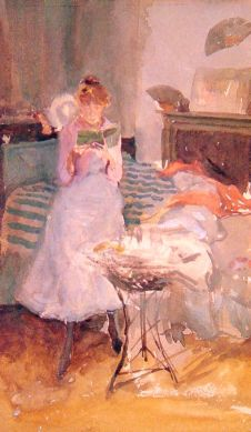 James Whistler: Różowa nuta