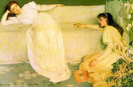 James Whistler: Symfonia w bieli