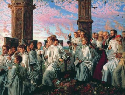 William Holman Hunt: Poranek majowy