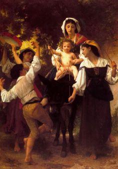 William-Adolphe Bouguereau: Winobranie