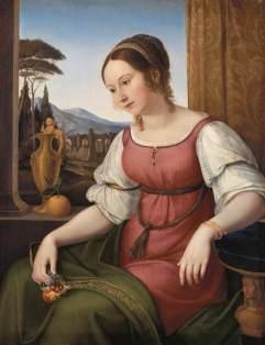 Wilhelm von Schadow: Portret młodej dziewczyny