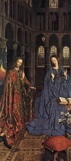 Jan van Eyck: Zwiastowanie