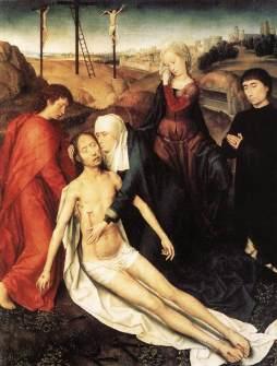 Hans Memling: Lamentacje nad zmarłym Panem
