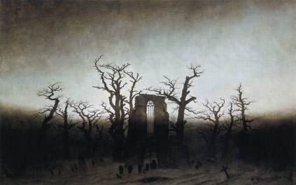 Caspar David Friedrich: Opactwo