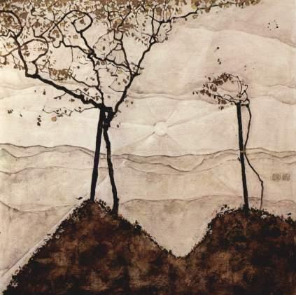 Egon Schiele: Drzewa