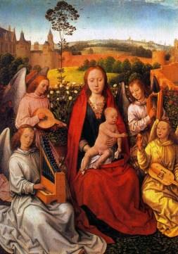 Hans Memling: Madonna z Dzieciątkiem