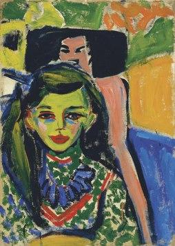 Ernst Ludwig Kirchner: Dziewczyna na krześle