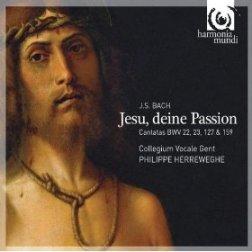 Jesu, deine Passion (okładka płyty)