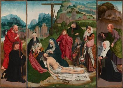 Jan Mostaert: Zdjęcie z krzyża