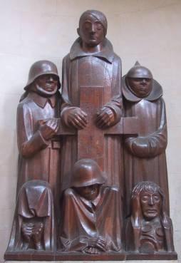 Ernst Barlach, Pomnik poległych