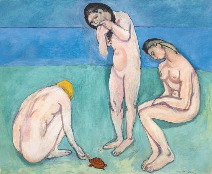 Henri Matisse: Kąpiace się z żółwiem