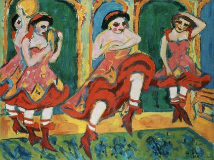 Ernst Ludwig Kirchner: Czardasz