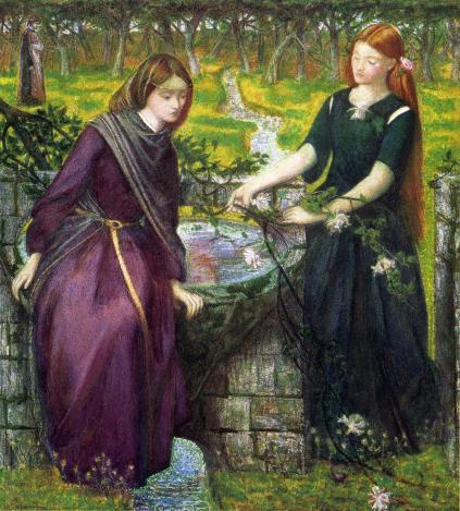 Dante Gabriel Rossetti: Rachela i Lea
