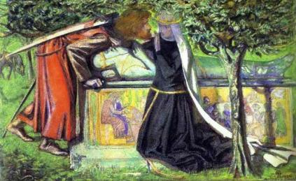 Dante Gabriel Rossetti: Grobowiec Artura