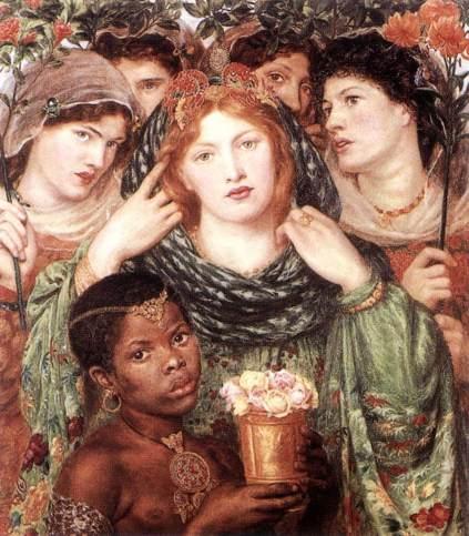 Dante Gabriel Rossetti: Panna młoda