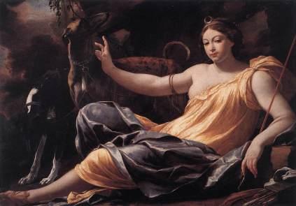 Simon Vouet: Diana