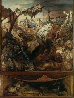 Otto Dix: Wojna (część środkowa)