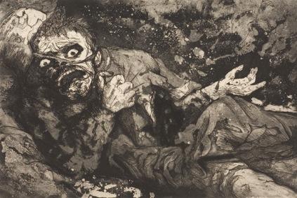 Otto Dix, Ranny żołnierz