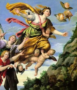 Domenichino: Wniebowzięcie Marii Magdaleny