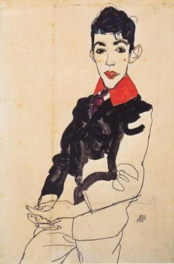 Egon Schiele: Portret chłopca