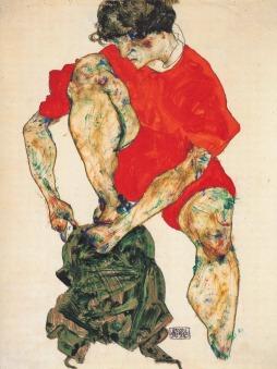 Egon Schiele: Model kobiecy
