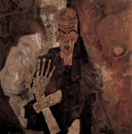 Egon Schiele: Mężczyzna i śmierć