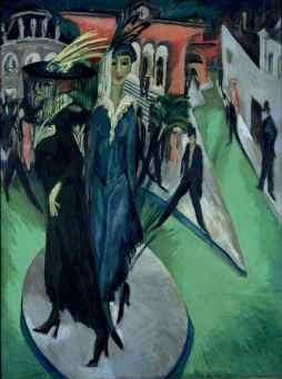 Ernst Ludwig Kirchner: Plac Poczdamski