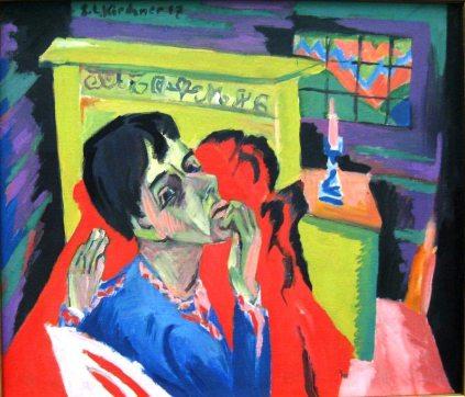 Ernst Ludwig Kirchner: Autoportret w chorobie