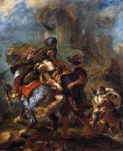Eugène Delacroix.: Uprowadzenie Rebeki