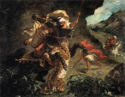Eugène Delacroix: Polowanie na tygrysa