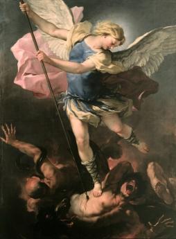 Luca Giordano: Święty Michał