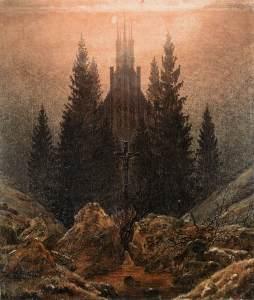Caspar David Friedrich: Trzy słońca