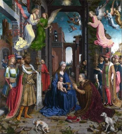 Jan Gossaert: Adoracja Magów