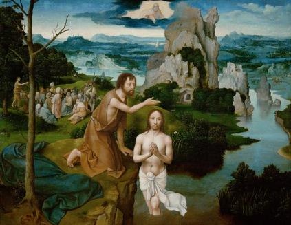 Joachim Patinir: Chrzest Chrystusa