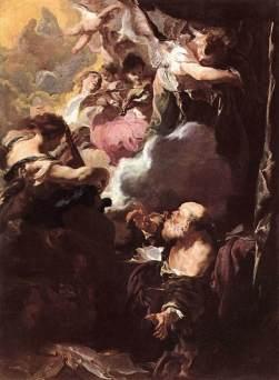 Johann Liss: Ekstaza św. Pawła