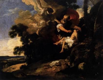 Johann Liss: Ofiara Izaaka