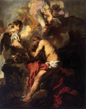 Johann Liss: Wizja św. Hieronima