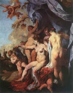 Johann Liss: Wenus przed zwierciadłem