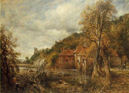 John Constable, Młyn i zamek w Arundel