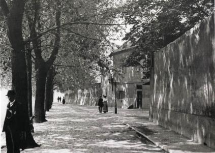 Praska uliczka, 1900