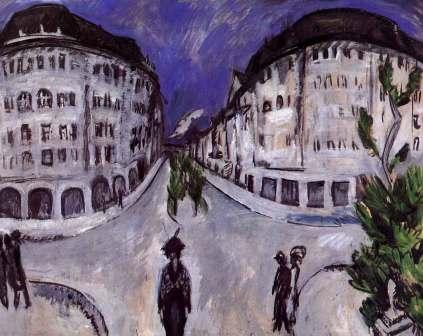 Ernst Ludwig Kirchner: Ulica w Schönebergu