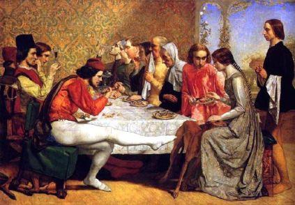 John Everett Millais: Lorenzo i Izabella