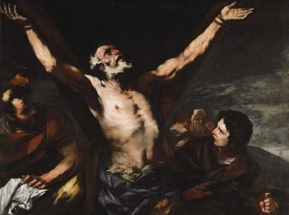 Luca Giordano: Ukrzyżowanie św. Andrzeja