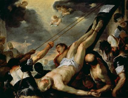 Luca Giordano: Ukrzyżowanie św. Piotra