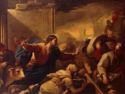Luca Giordano: Wypędzenie przekupniów ze świątyni
