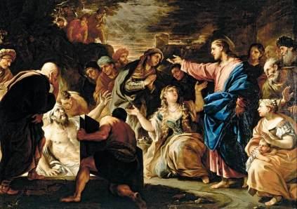 Luca Giordano: Wskrzeszenie Łazarza
